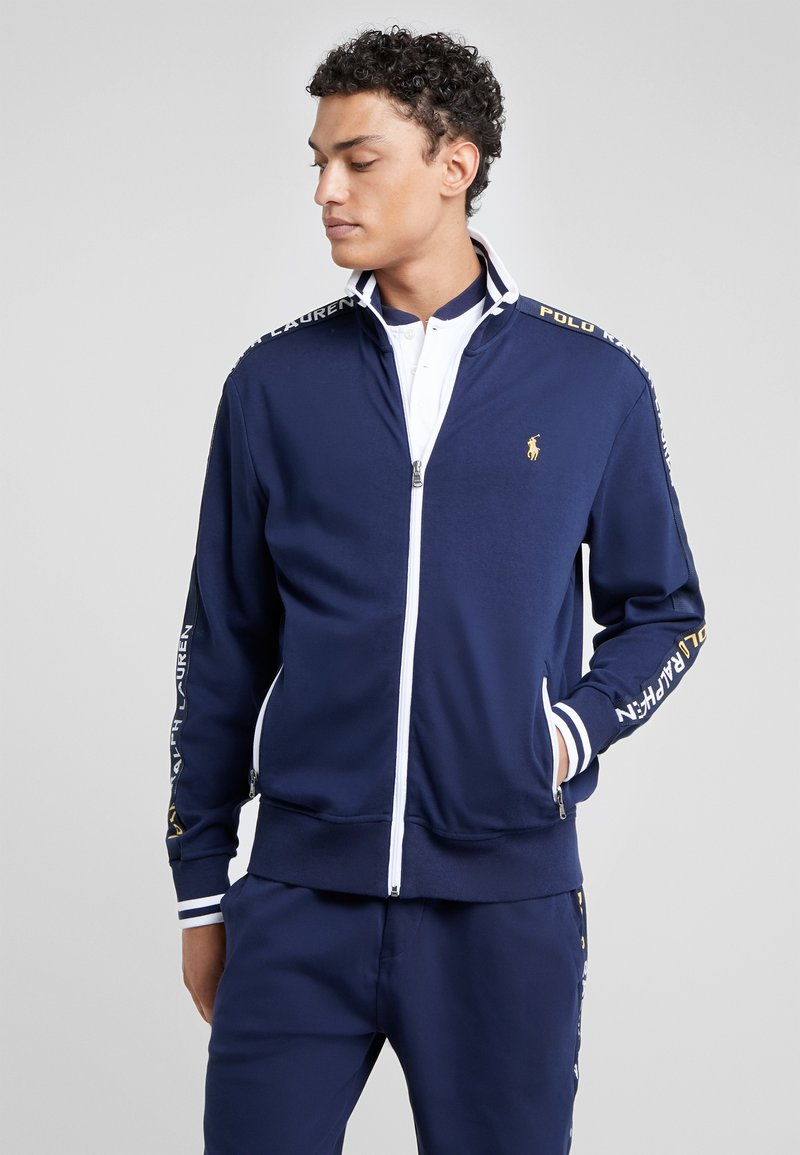 Polo Ralph Lauren - INTERLOCK - Neuletakki - french navy