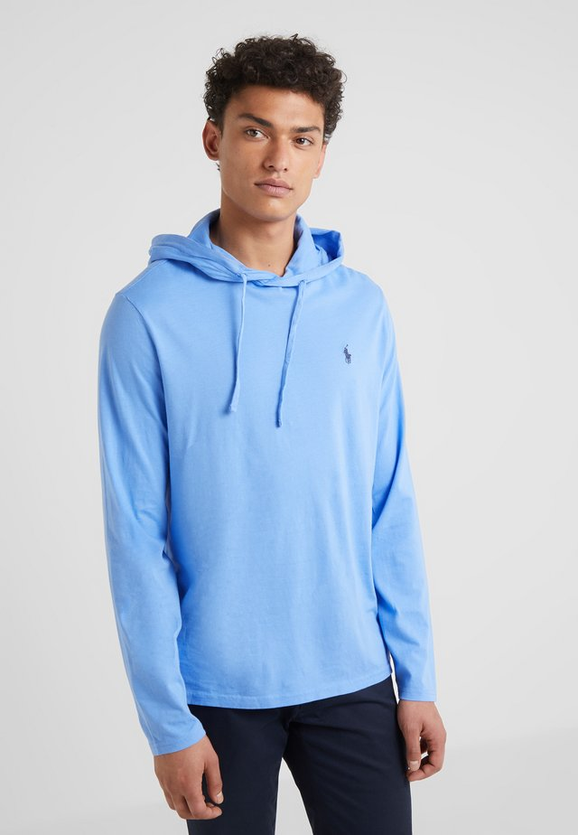 HOOD LONG SLEEVE - Jersey con capucha - harbor island blue