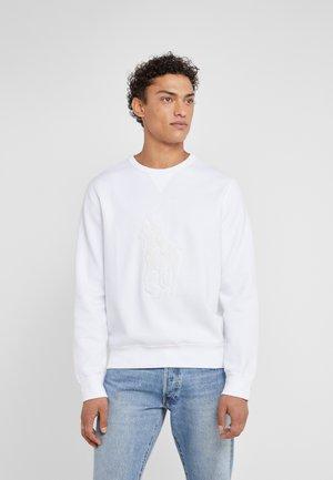 DOUBLE - Sweatshirt - white