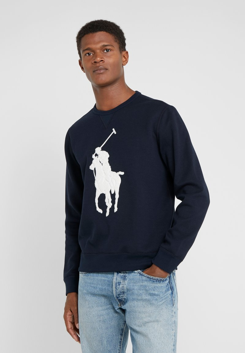 Polo Ralph Lauren - DOUBLE - Sweatshirt - aviator navy