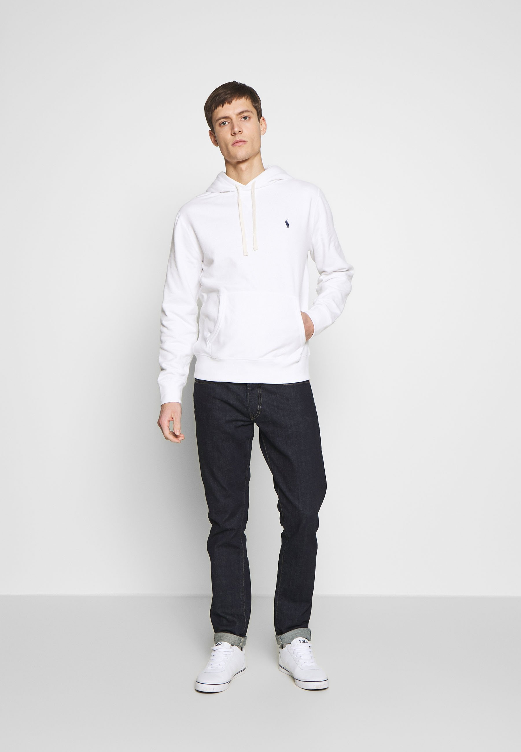 Polo Ralph Lauren Bluza z kapturem - white
