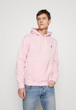 Felpa con cappuccio - garden pink