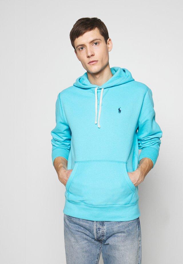 Bluza z kapturem - french turquoise