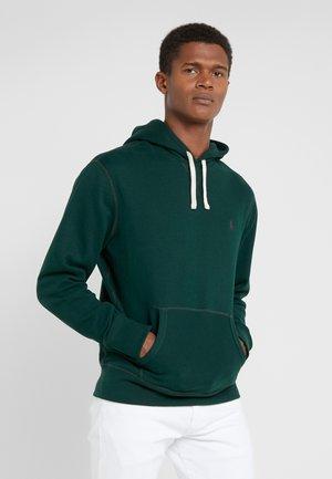 Felpa con cappuccio - college green