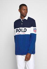 Polo Ralph Lauren - Mikina - newport navy mult - 0