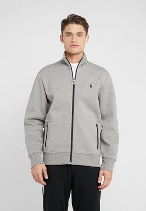 Zip-up hoodie - battalion heather
