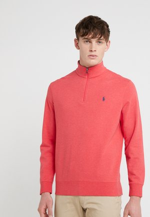 DOUBLE  HALFZIP - Sweatshirt - rosette heather