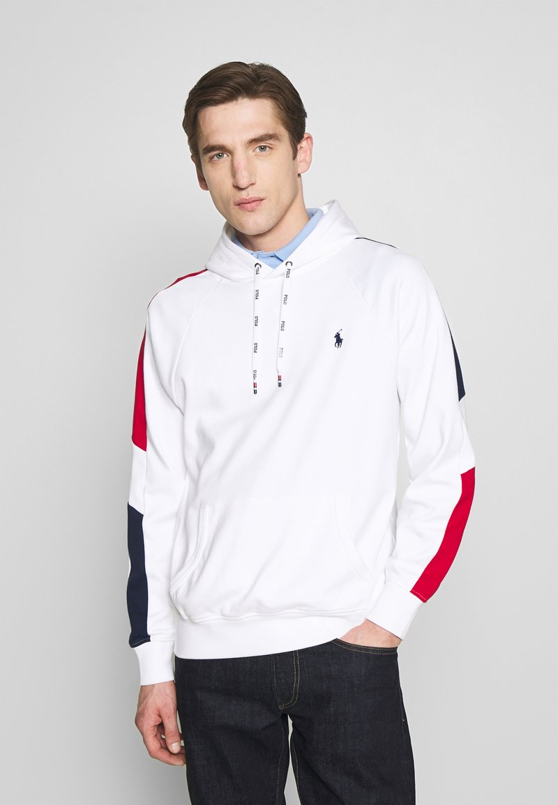 Polo Ralph Lauren - HEAVY SOFT TOUCH - Hoodie - white