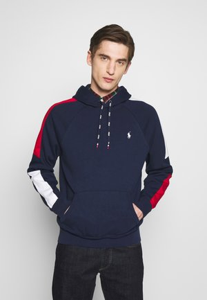 HEAVY SOFT TOUCH - Sweat à capuche - cruise navy