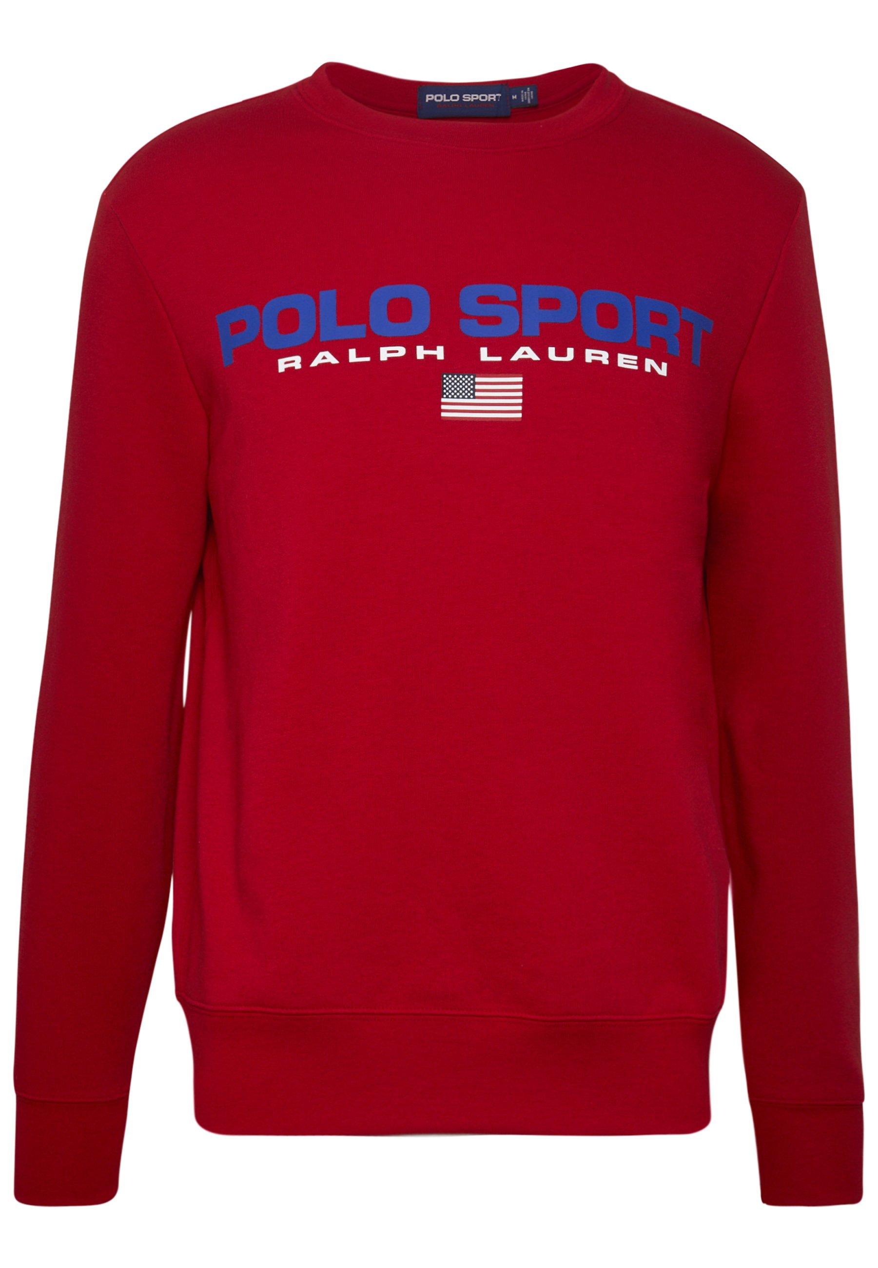 Polo Ralph Lauren Sweatshirt - Red wMZ0mdP