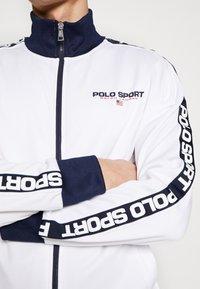 Polo Ralph Lauren - TRICOT - Verryttelytakki - pure white - 3