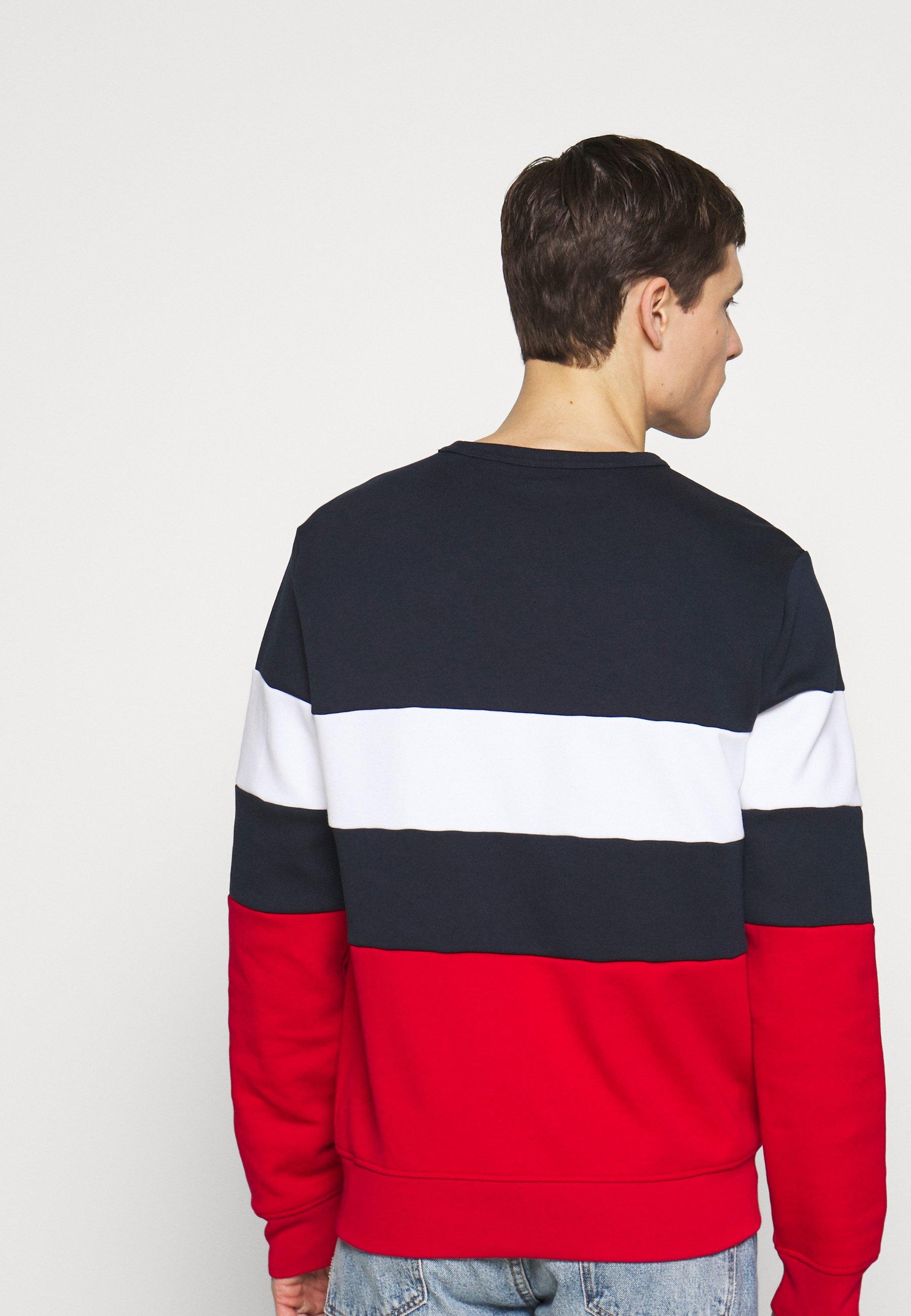Polo Ralph Lauren Double - Huvtröja Med Dragkedja Aviator Navy Mult