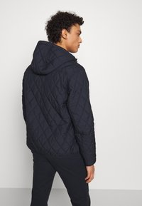 Polo Ralph Lauren - QUILTED HENSON HOODIE - Giacca da mezza stagione - college navy - 2