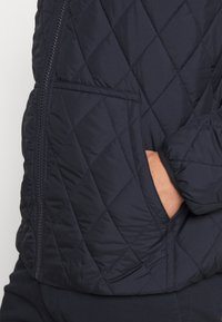 Polo Ralph Lauren - QUILTED HENSON HOODIE - Giacca da mezza stagione - college navy - 5