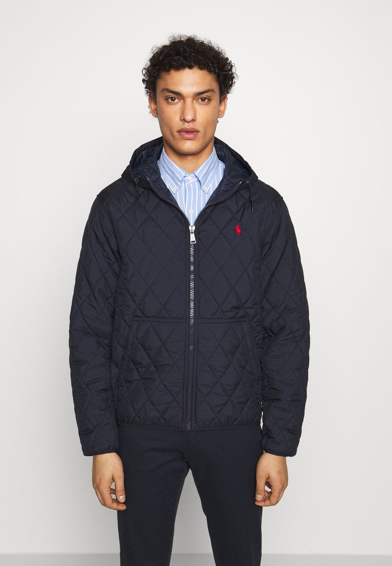 Polo Ralph Lauren - QUILTED HENSON HOODIE - Giacca da mezza stagione - college navy