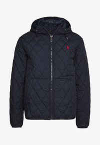Polo Ralph Lauren - QUILTED HENSON HOODIE - Giacca da mezza stagione - college navy - 4
