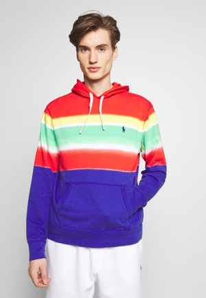 SPA TERRY - Hoodie - spectra stripe
