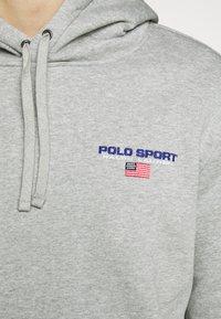 Polo Ralph Lauren - Sweat à capuche - andover heather - 6