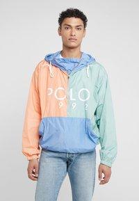 Polo Ralph Lauren - COLOR BLOCK - Giacca a vento - blue - 0