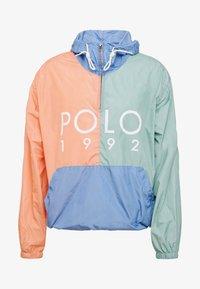 Polo Ralph Lauren - COLOR BLOCK - Giacca a vento - blue - 4