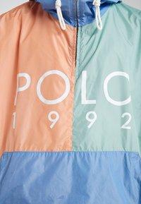 Polo Ralph Lauren - COLOR BLOCK - Giacca a vento - blue - 5