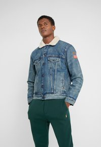Polo Ralph Lauren - ICON TRUCKER JACKET - Giacca da mezza stagione - keighton - 0