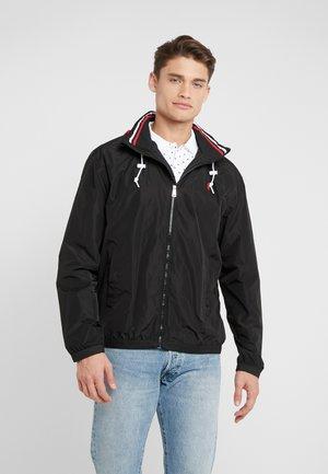 AMHERST FULL ZIP JACKET - Lehká bunda - black