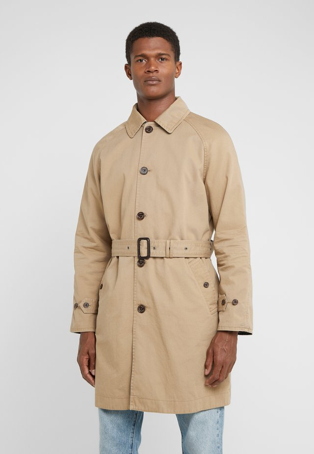 REVERSIBLE COAT - Trench - desert khaki