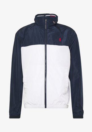 AMHERST FULL ZIP JACKET - Větrovka - aviator navy/pur