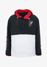 Polo Ralph Lauren - WING HALF ZIP JACKET - Lehká bunda - black/ white - 5