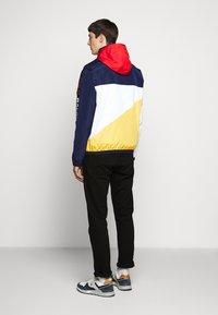 Polo Ralph Lauren - PACE FULL ZIP JACKET - Korte jassen - newport navy/yellow - 2