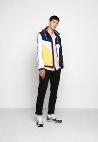Polo Ralph Lauren - PACE FULL ZIP JACKET - Korte jassen - newport navy/yellow - 1