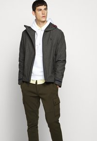 Polo Ralph Lauren - PORTLAND FULL ZIP - Summer jacket - windsor heather - 6