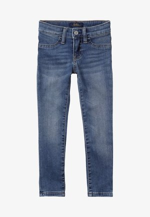 AUBRIE BOTTOMS - Jeans slim fit - lucinda wash