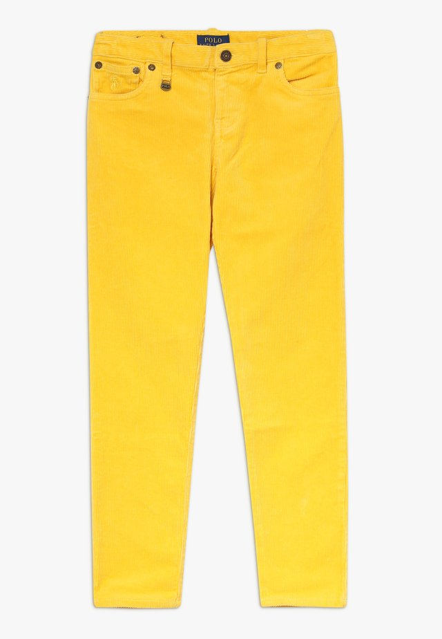 SKINNY BOTTOMS PANT - Pantalones - chrome yellow