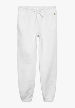BOTTOMS PANT - Teplákové kalhoty - white