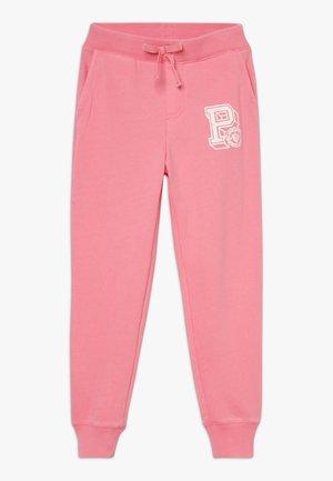 GRAPHIC BOTTOMS - Tracksuit bottoms - lauren pink