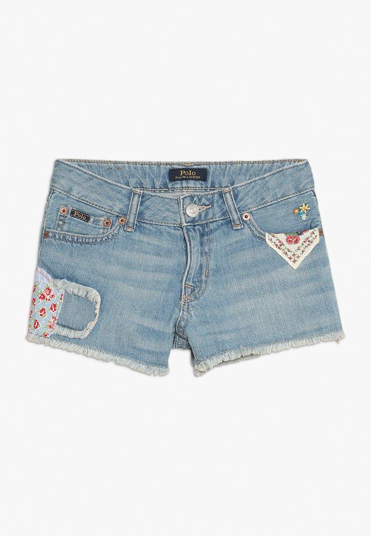 Polo Ralph Lauren - NOVELTY - Denim shorts - delfina wash