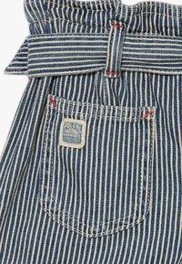 Polo Ralph Lauren - PAPERBAG BOTTOMS - Shorts - dark blue denim - 4