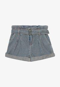 Polo Ralph Lauren - PAPERBAG BOTTOMS - Shorts - dark blue denim - 3