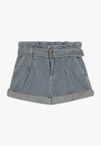 Polo Ralph Lauren - PAPERBAG BOTTOMS - Shorts - dark blue denim - 0