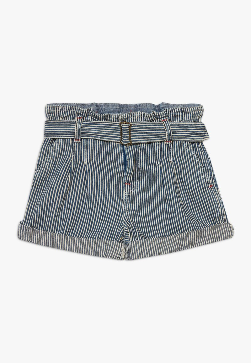 Polo Ralph Lauren - PAPERBAG BOTTOMS - Shorts - dark blue denim