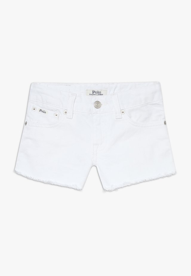 BOTTOMS - Jeans Shorts - poe wash