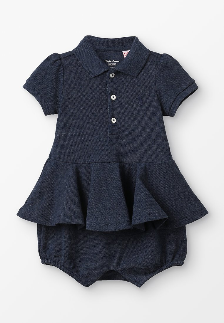 Polo Ralph Lauren - PEPLUM BABY - Combinaison - blue heather