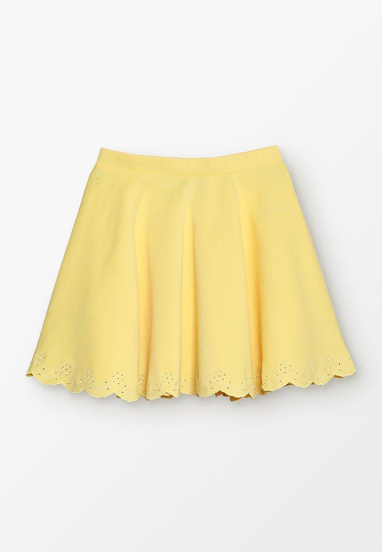 Polo Ralph Lauren - ROMA SKIRT - A-linjekjol - signal yellow