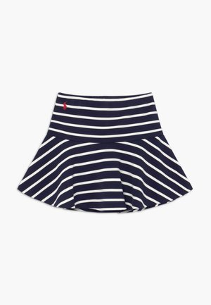 SCOOTER  SKIRT - Gonna a campana - hunter navy clubhouse cream
