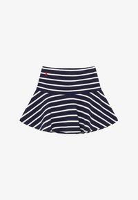 Polo Ralph Lauren - SCOOTER  SKIRT - Falda acampanada - hunter navy clubhouse cream - 2