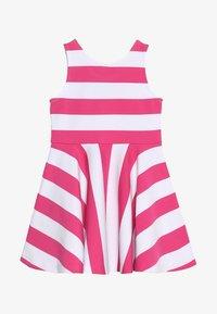 Polo Ralph Lauren - PONTE DRESS - Vestito estivo - ultra pink/white - 3