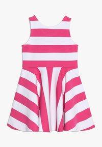 Polo Ralph Lauren - PONTE DRESS - Vestito estivo - ultra pink/white - 0