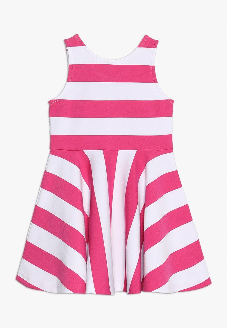 Polo Ralph Lauren - PONTE DRESS - Vestito estivo - ultra pink/white